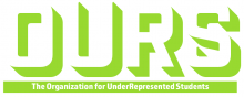 The Organization for UnderRepresented Students logo